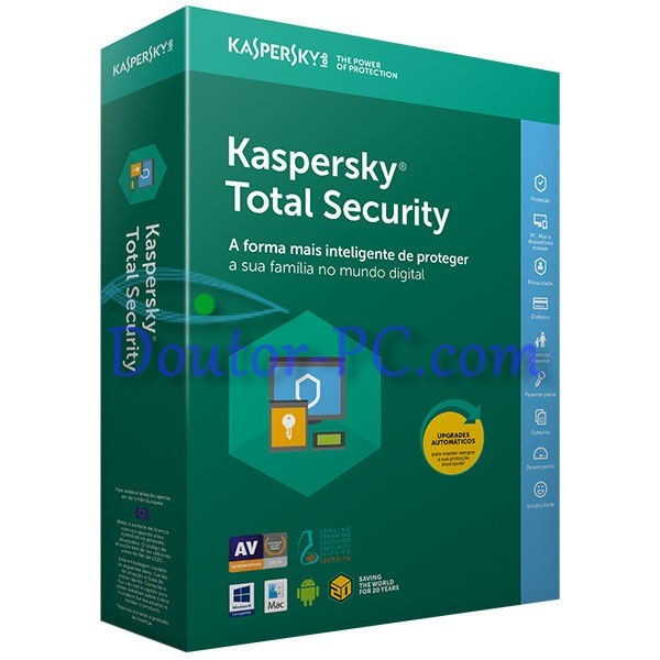 Software Kaspersky Total Security 2018